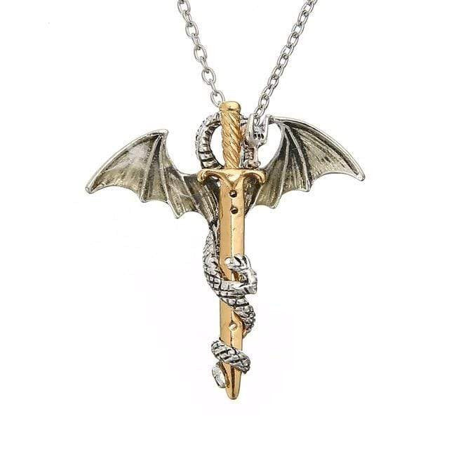 zeevera - Glow in the dark Dragon Necklace