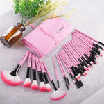 zeevera - 32 Professional Makeup Brushes With Holder Bag