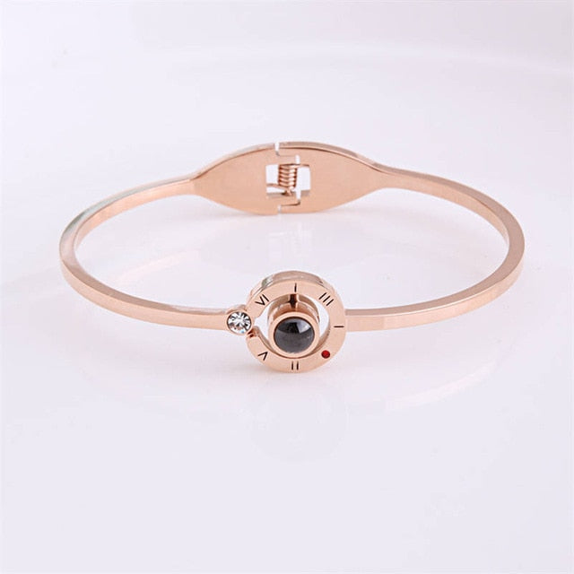 zeevera - I love you Projection Women Bracelet