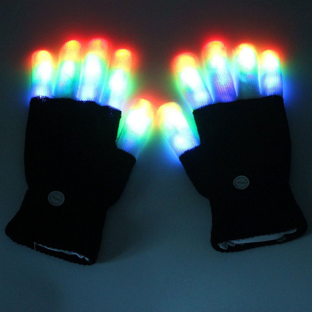 Cool Rave LED Flashing Gloves
