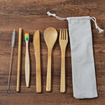 6-Pack Plastic Free Bamboo Gift Set