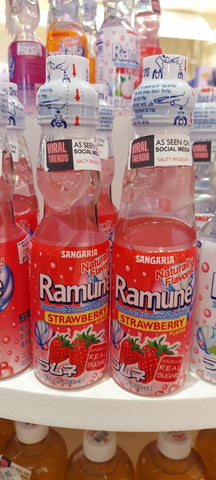 RAMUNE DRINK *HIGH DEMAND*