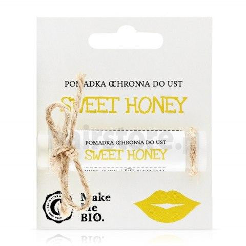 MAKE ME BIO Pomadka ochronna do ust SWEET HONEY 5ml