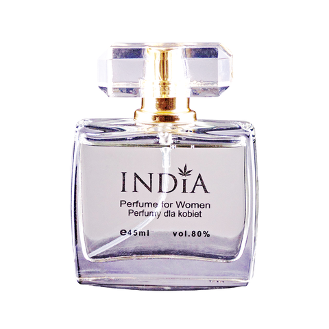 INDIA COSMETICS perfumy z nutą konopi, linia damska 45ml