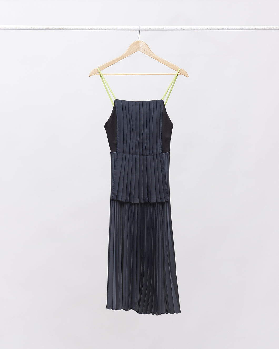 LAFORMELA Double Layer Pleated Dress