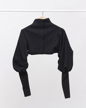 Load image into Gallery viewer, LAFORMELA Turtleneck with Draped Sleeves