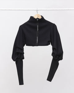 LAFORMELA Turtleneck with Draped Sleeves
