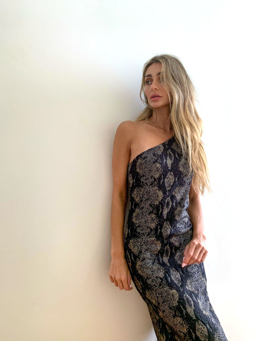 PYTHON BEACH DRESS