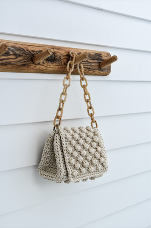 BEIGE BUBBLE BAG