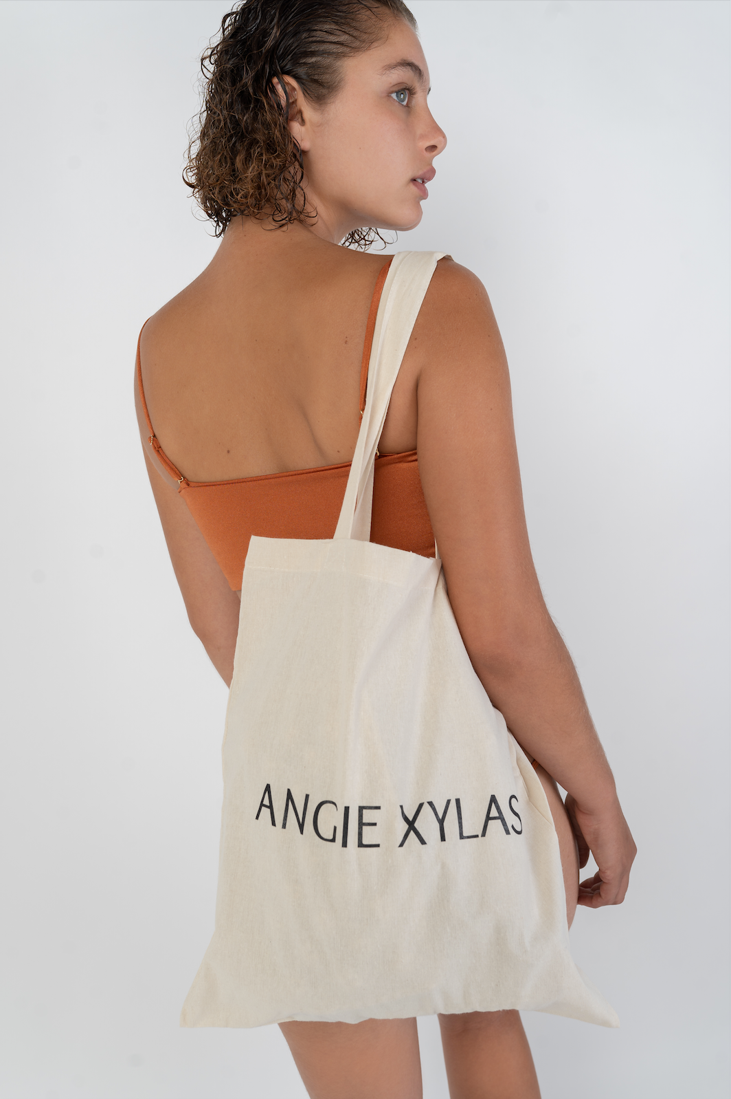 ΑΞ CANVAS TOTE BAG