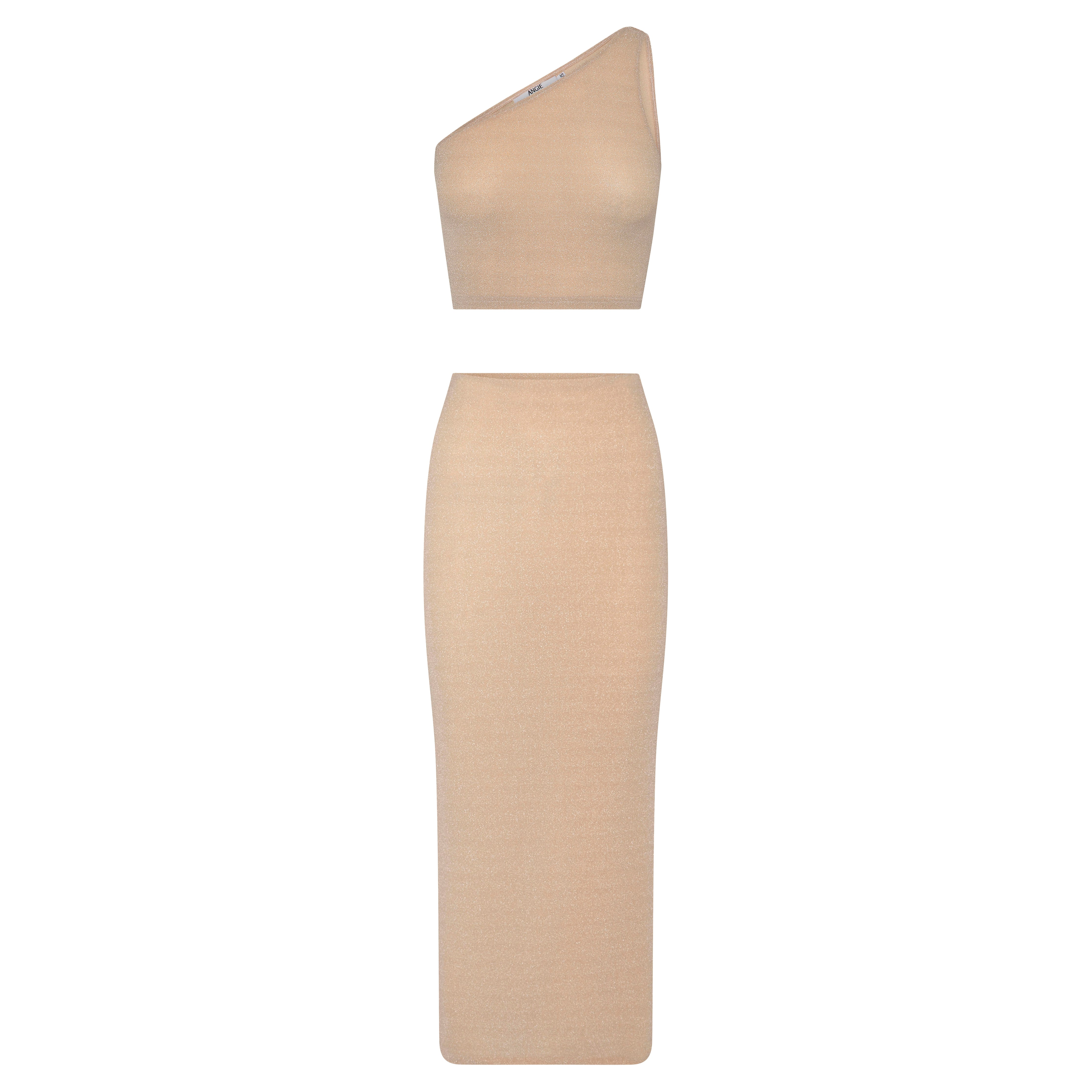 TYRA 2-PIECE MAXI | CHAMPAGNE