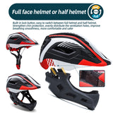 Kids Bike Helmet Full Face Toddler Bicycle Helmet for BMX