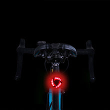 Load image into Gallery viewer, USB Vortex Bicycle Taillight Rear LEDs