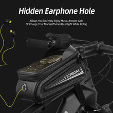 Load image into Gallery viewer, Bike Frame Bag Phone Mount Front Cycling Tube Bag