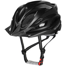 Load image into Gallery viewer, USB MTB  LED Bike Helmet Aero Sun Visor