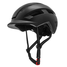 Load image into Gallery viewer, Urban Cycling Helmet w/ Goggles & USB  LED