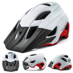 USB Goggles Bicycle Helmet With Visor Plus