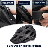 Sun Viros MTB Road Bike Cycling Helmet