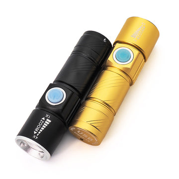 VICTGOAL LED USB Rechargeable Bike Torch
