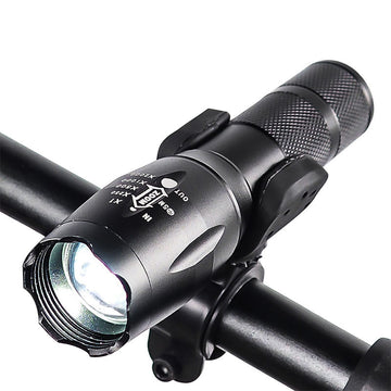 VICTGOAL LED Bike Light Flashlight Alloy Camping Flashlight Torch