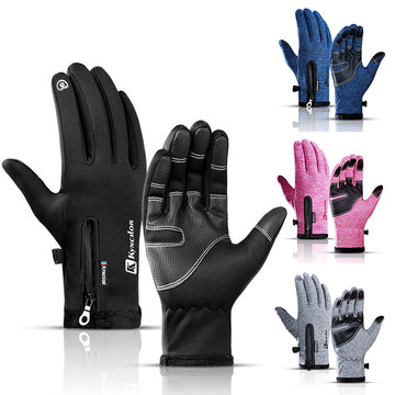 VICTGOAL Winter Sports Gloves Thermal Waterproof Running Gloves
