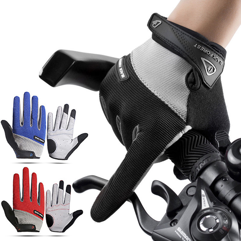VICTGOAL Gel Padded Cycling Gloves Full Finger Breathable Sports Gloves For Adults