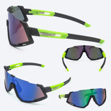 Load image into Gallery viewer, Polarized Cycling Glasses UV400 3 Lens Packs