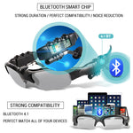 Bluetooth USB Sports Sunglasses w/ Speaker