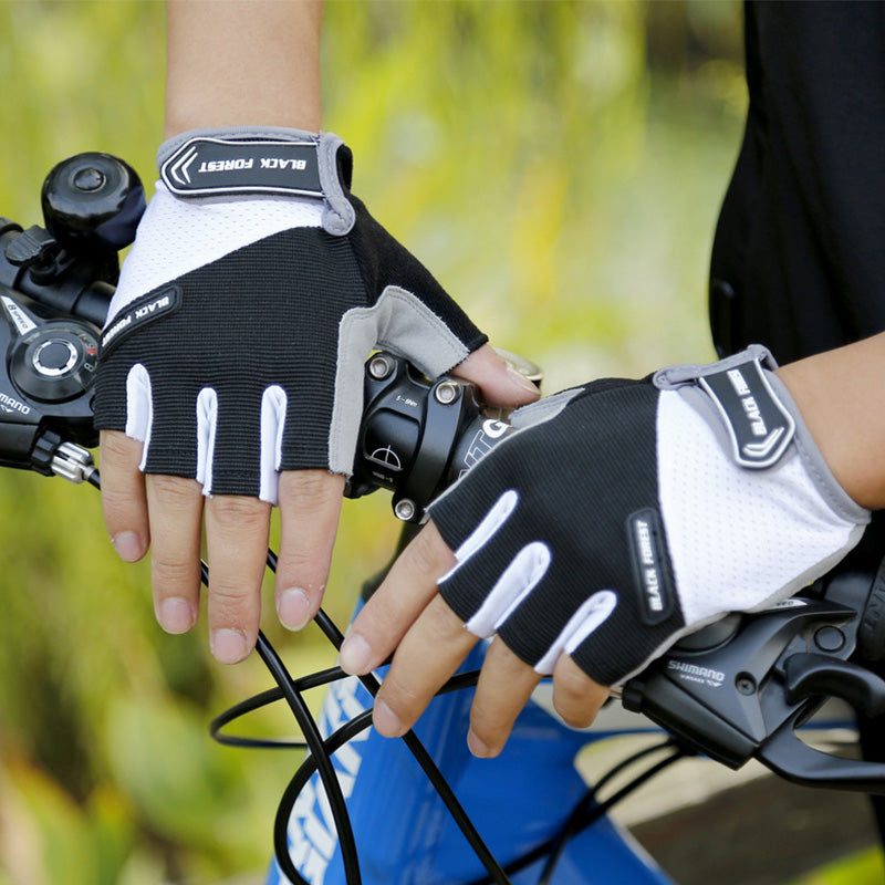 VICTGOAL Half-Finger Cycling Gloves Gel Padded MTB Gym Sports Gloves