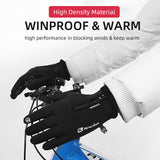 Winter thermal full finger gloves