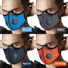 Load image into Gallery viewer, FACE MASK ACTIVATED CARBON RESPIRATOR