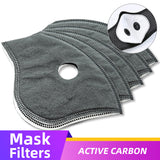 PM2.5 Replaceable Filter For KN95 Face Mask Cover