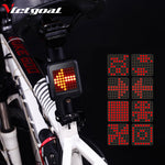 Smart Bike Taillight Auto Turning Singals & Warning