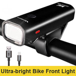 USB Rechargeable Bike Light Set Front & Rear