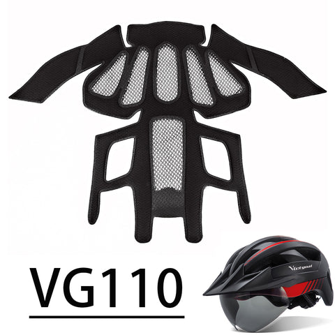 Replacement Liner Lining Pads For Bike Helmet