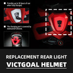 Replacement Black Light For Bike Helmets