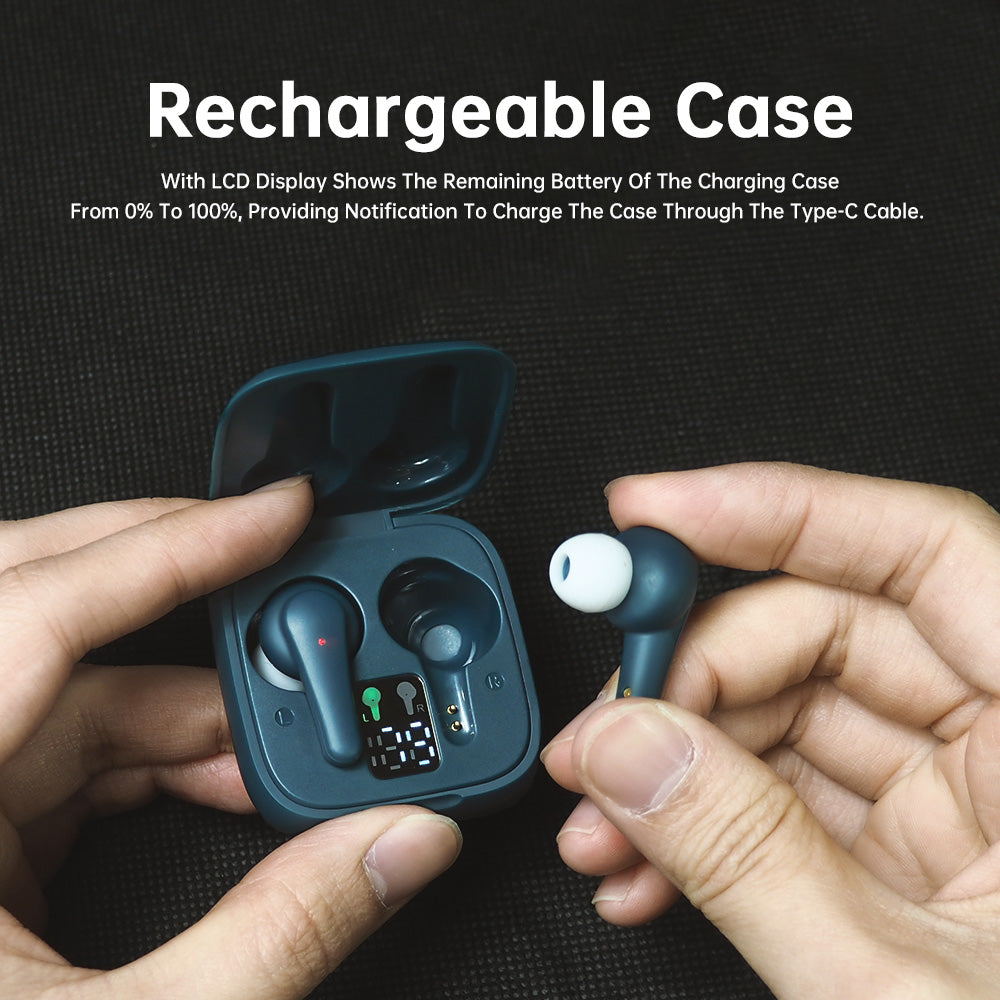 TWS WIRELESS EARBUDS TOUCH CONTROL BLUETOOTH SPORTS HEADPHONE