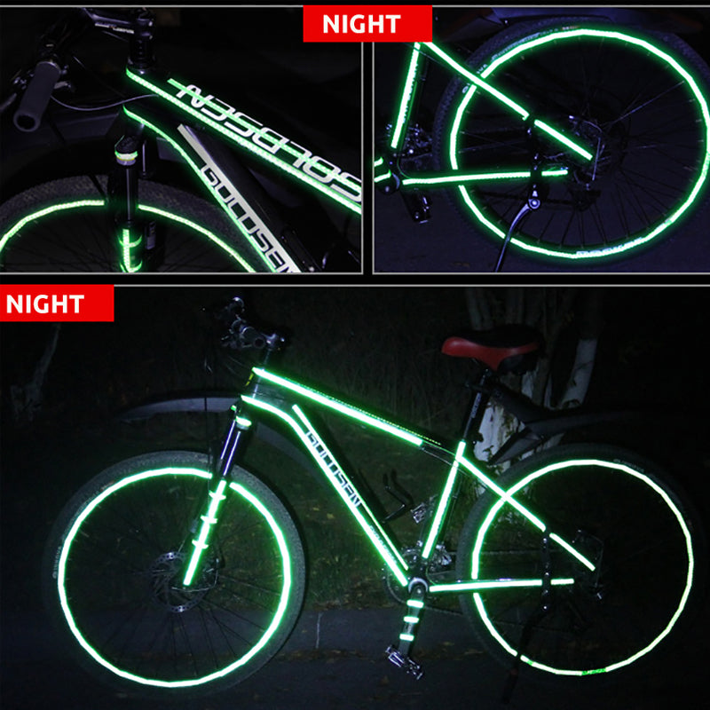 VICTGOAL Reflective Bicycle Sticker MTB