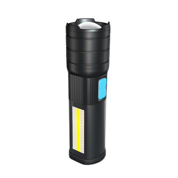 VICTGOAL Magnetic LED/USB Rechargeable COB Side Light Tactical Torch