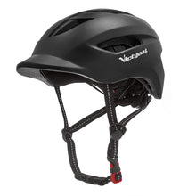 Load image into Gallery viewer, Urban Commuter Cycling Helmet w/ LED Rear Light