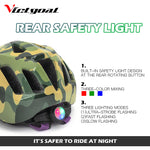 KIDS Bicycle Helmet w/ LED Rear Light