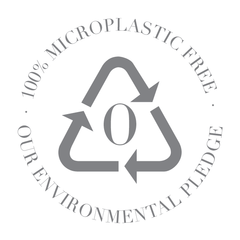 Our Products are 100% Microplastics Free
