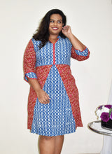Load image into Gallery viewer, Kalamkari Kurti Sample