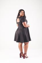 Load image into Gallery viewer, Open Back Skater Dress