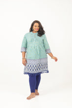 Load image into Gallery viewer, Pom Pom Border Kurti