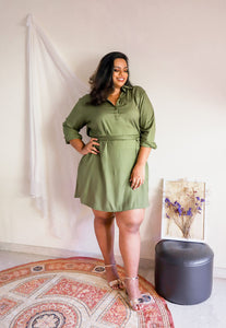 Rayon Shirtdress