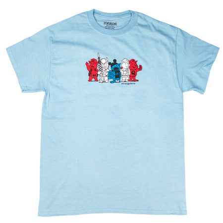 StrangeLove - Silly Animals Tee (Light Blue)