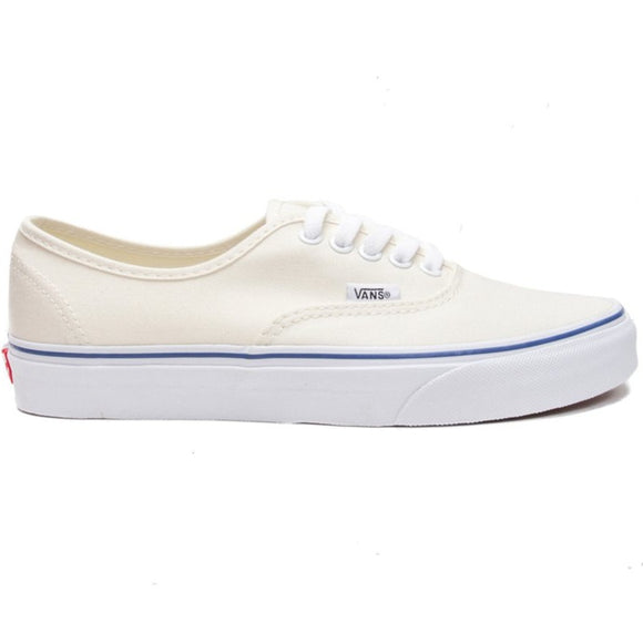 Vans - Authentic Off White (Blue Foxing Stripe)