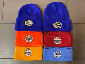 SureShot skateboards - beanies