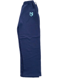 NJ - Lions Logo Embroidered Sweatpants (Navy/Teal Logo)